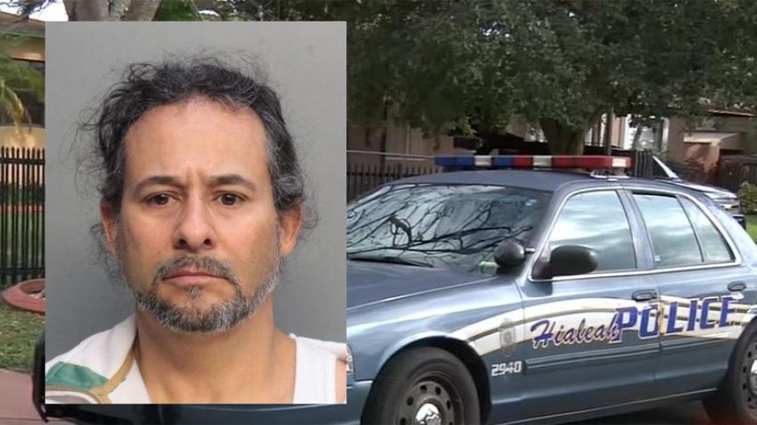 Hombre de Hialeah es arrestado por agredir a una persona con un machete por un espacio de estacionamiento