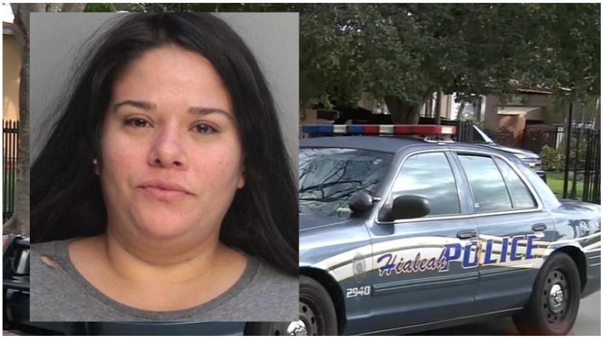 Madre cubana de Hialeah es arrestada por abandonar a su hijo mientras se emborrachaba