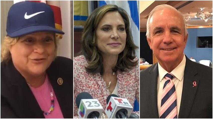 Ileana Ros-Lehtinen da su apoyo a María Elvira Salazar y a Carlos Giménez en la campaña para el Congreso