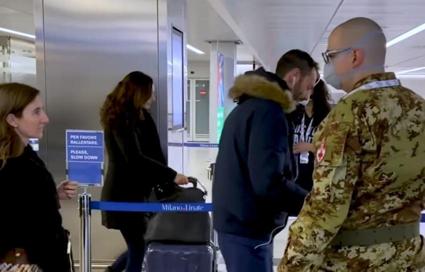 """Coronavirus: Estados Unidos eleva el nivel de alerta de viaje para Italia a nivel 3: """"Reconsiderar el viaje"""""""