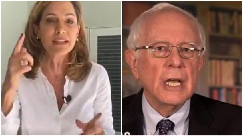 La cubana María Elvira Salazar vuelve a salirle al paso a Bernie Sanders tras volver a defender a Castro
