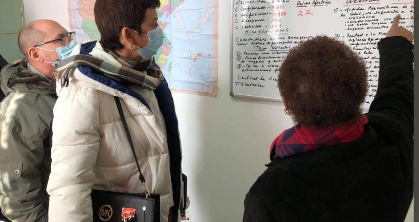 Médicos cubanos llegan a la Embajada de Cuba en China para monitorear el Coronavirus