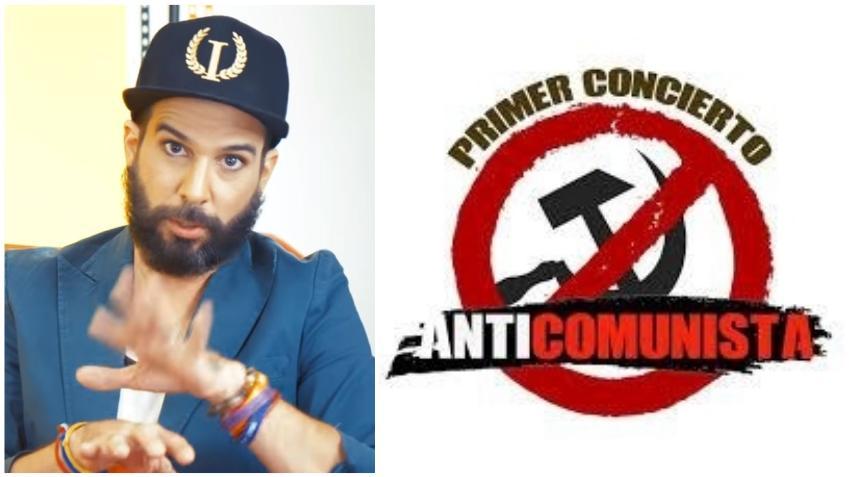 Presentador cubano Alex Otaola dice presente al primer concierto Anticomunista en Estados Unidos que se celebrará en Miami