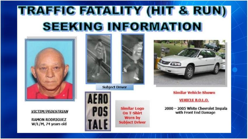 Policía busca un Impala blanco y su conductor con relación al atropello fatal de un anciano en la Calle Ocho