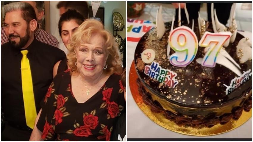 Así fue el cumpleaños 97 de la vedette cubana Rosita Fornés