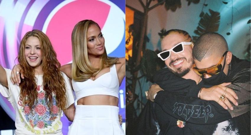 El espectáculo de medio tiempo más latino del Super Bowl; J Balvin y Bad Bunny también invitados
