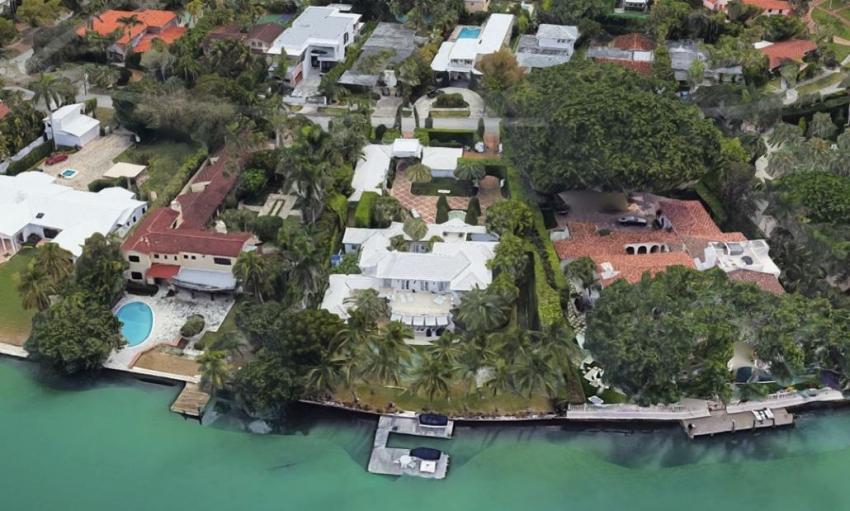 Cofundador de la marca Tory Burch compra mansión en Miami Beach por $ 14.2 millones