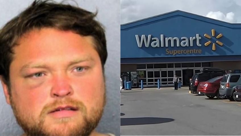 Un hombre intenta violar a una mujer en un Walmart del sur de la Florida