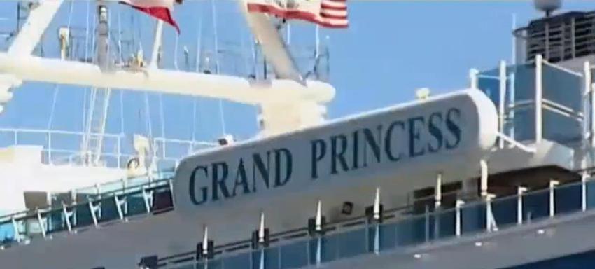 Dan positivo al coronavirus 21 personas a bordo de un crucero anclado frente a California