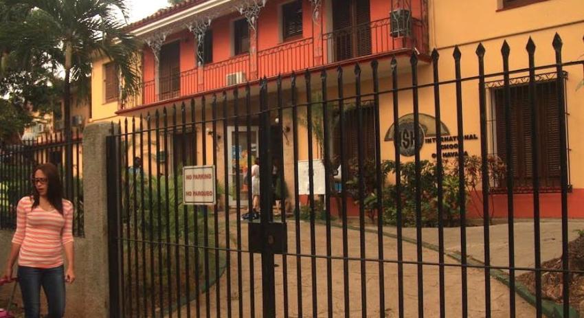 Cierra sus puertas la Escuela Internacional de La Habana, a donde asisten los hijos de extranjeros que residen en Cuba, ante avance del Covid-19