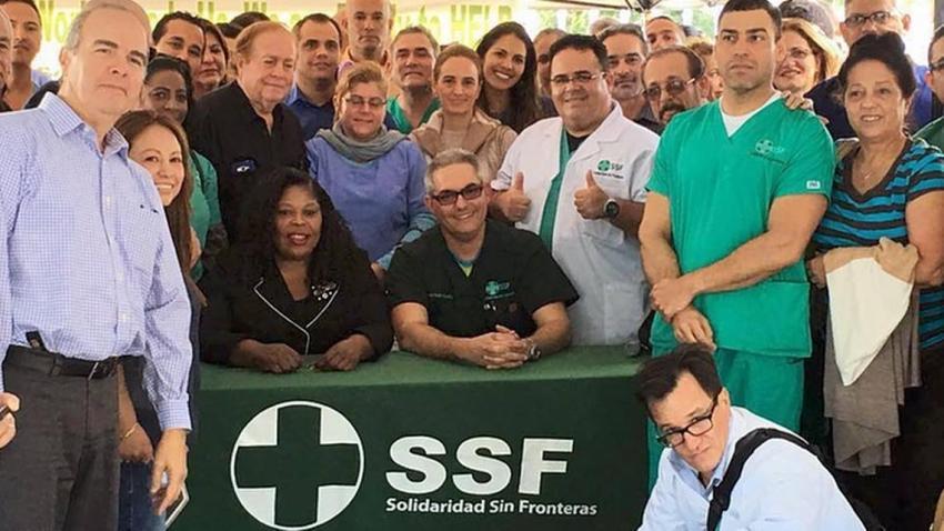 Solidaridad sin Fronteras pide que se le revalide el título a los médicos cubanos en Estados Unidos para que ayuden en la lucha contra el coronavirus