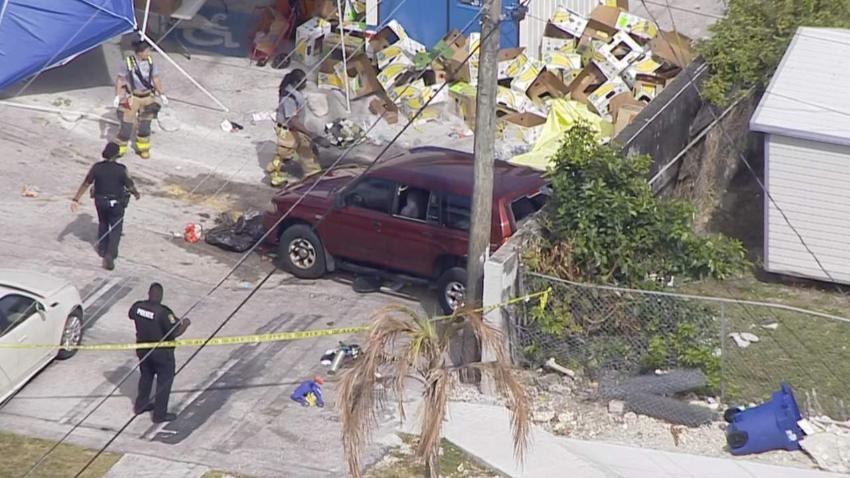 Al menos siete personas heridas en accidente de tránsito en Miami Gardens