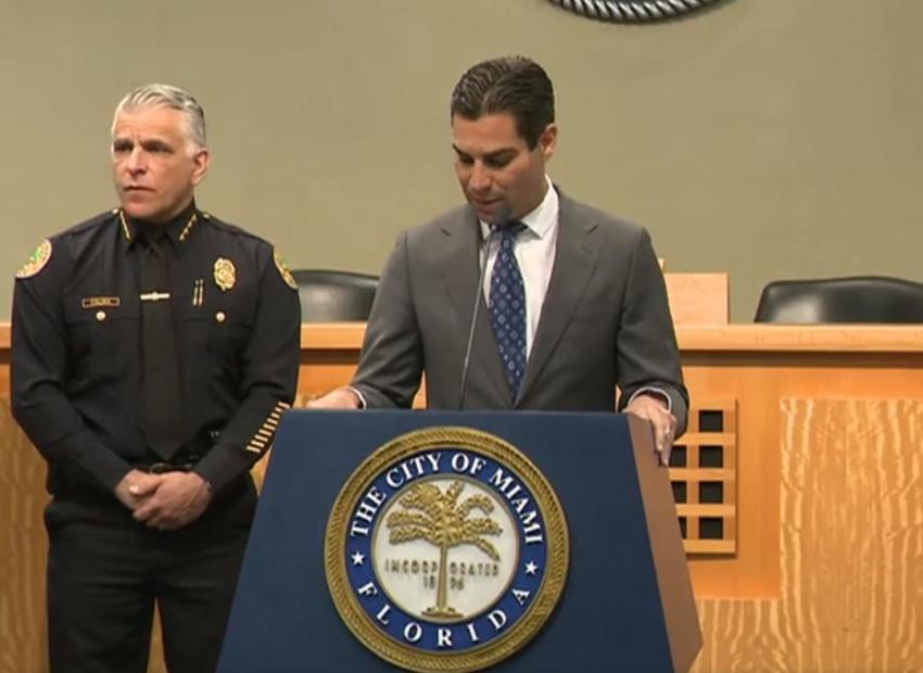 Alcalde de Miami pide a la comunidad no entrar en pánico y asegura que la ciudad está preparada para hacer frente al coronavirus