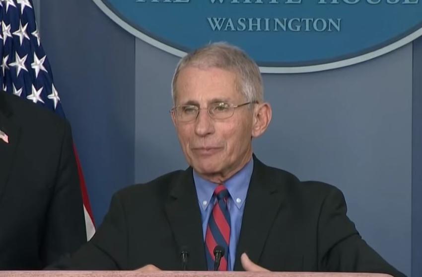 Dr Fauci asegura que es muy posible que Estados Unidos tenga una vacuna contra el COVID-19 para diciembre