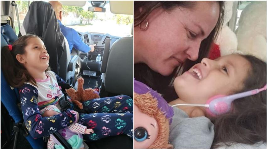 Madre de Ashlin comparte imágenes de la pequeña y da actualización sobre su progreso