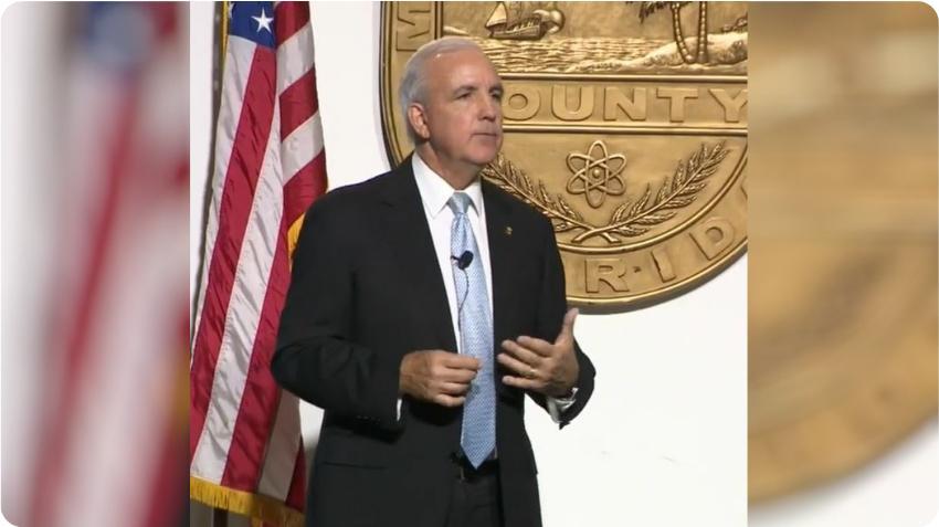 Alcalde de Miami Dade, Carlos Giménez, da negativo al Coronavirus