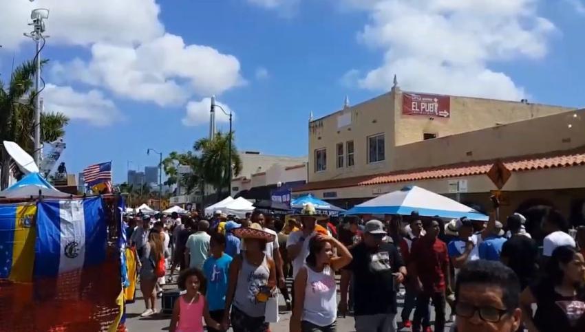 Posponen el carnaval de la Calle 8 en Miami por temores al coronavirus