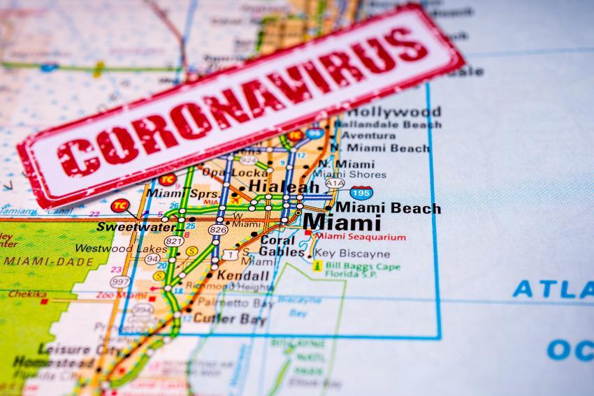 Miami Dade reporta 132 nuevos casos de coronavirus y 29 fallecidos más