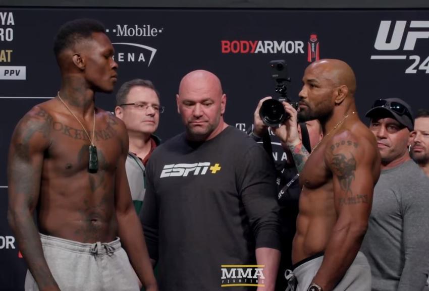 Cubano Yoel Romero busca el título de peso mediano en el UFC 248