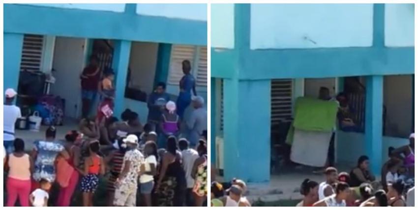 Ocho familias desalojadas de varios apartamentos en Marianao