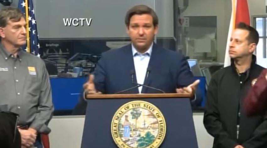 """Gobernador de Florida emitirá orden de """"quedarse en casa"""" para todo el estado"""