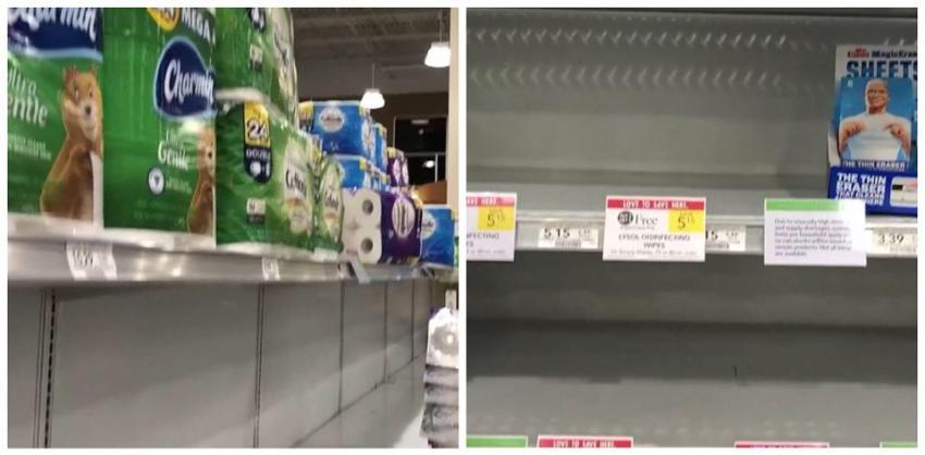 Tiendas del sur de la Florida comienzan a ver falta de suministros en sus estantes, por el temor de la gente a la pandemia