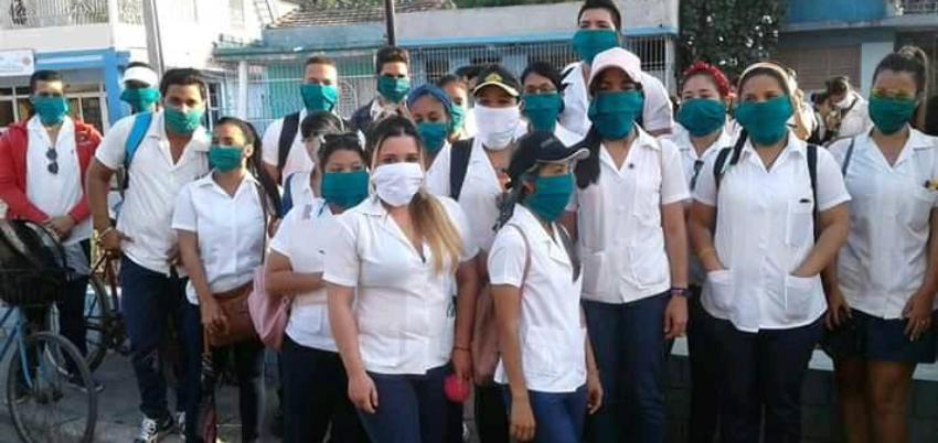 """Aislados dos estudiantes de Medicina en Cienfuegos, bajo sospecha de Covid-19: """"Sus padres están desesperados"""""""