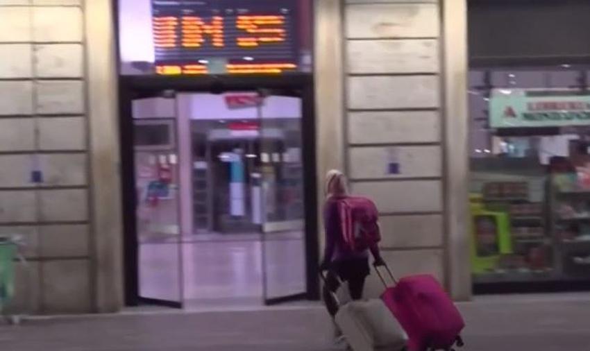 Una familia de Miami quedó varada en Italia debido a las cancelaciones de vuelos por el coronavirus