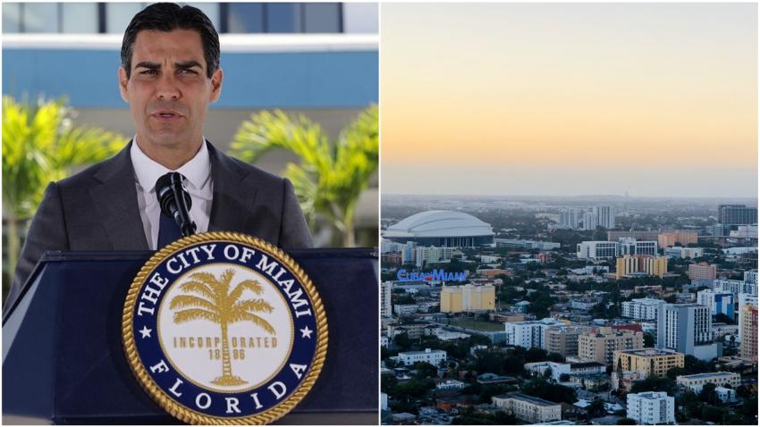 """Alcalde de Miami Francis Suárez: """"Estamos haciendo todo lo posible para no volver a una orden de quedarse en casa"""""""