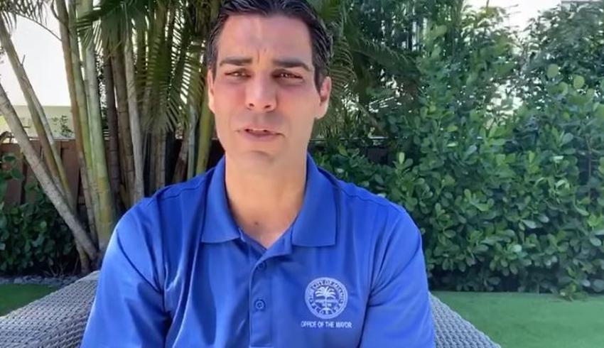 Alcalde de Miami Francis Suárez se recupera y da negativo a la prueba de coronavirus