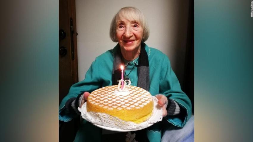 Una mujer italiana de 102 años se ha recuperado del coronavirus
