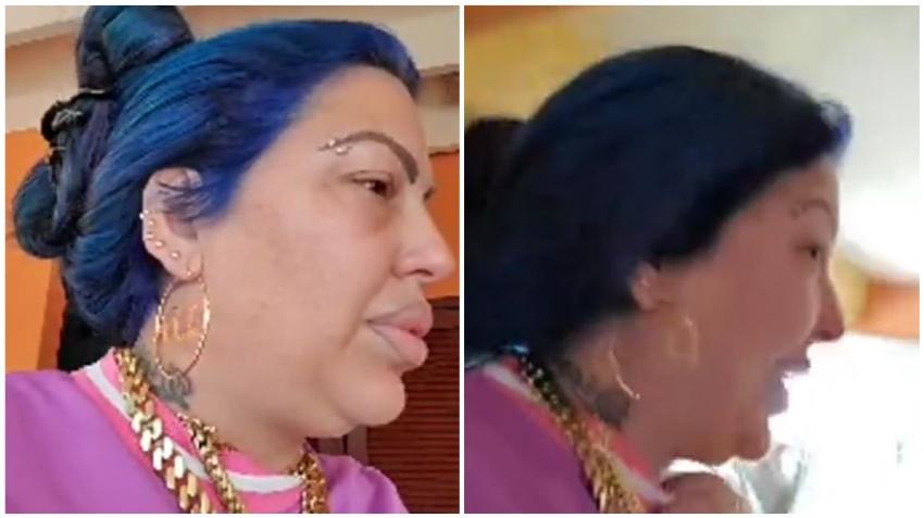 Cantante cubana La Diosa de Cuba explota porque en la escuela no dejaron a su hija usar máscara de protección para el coronavirus