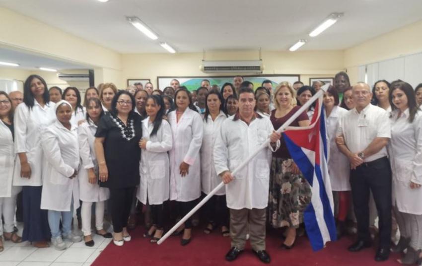 Cuba envía delegaciones de médicos a varios países entre ellos Italia, para combatir el coronavirus