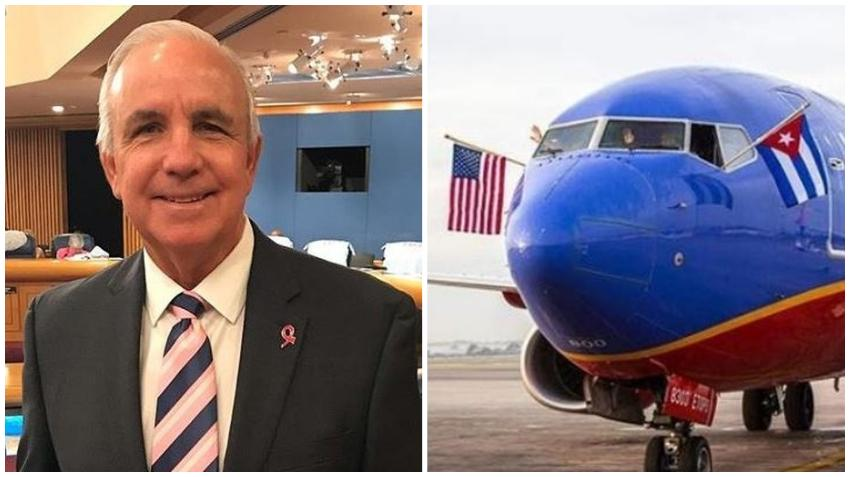 Alcalde de Miami-Dade, Carlos Giménez le pide ayuda al gobernador de Florida para suspender todos los vuelos a Cuba debido al coronavirus