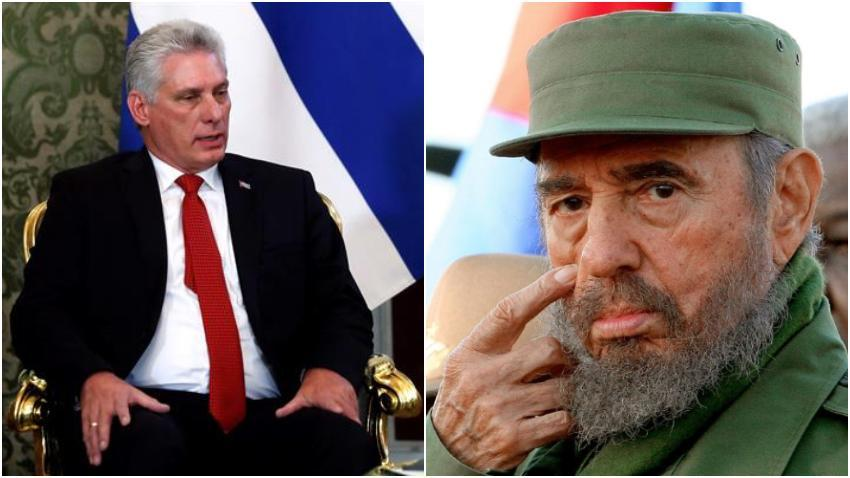 """El tuit de Díaz-Canel en el que cita a Castro y habla sobre la """"mejor distribución de las riquezas"""", que indignó a los cubanos"""