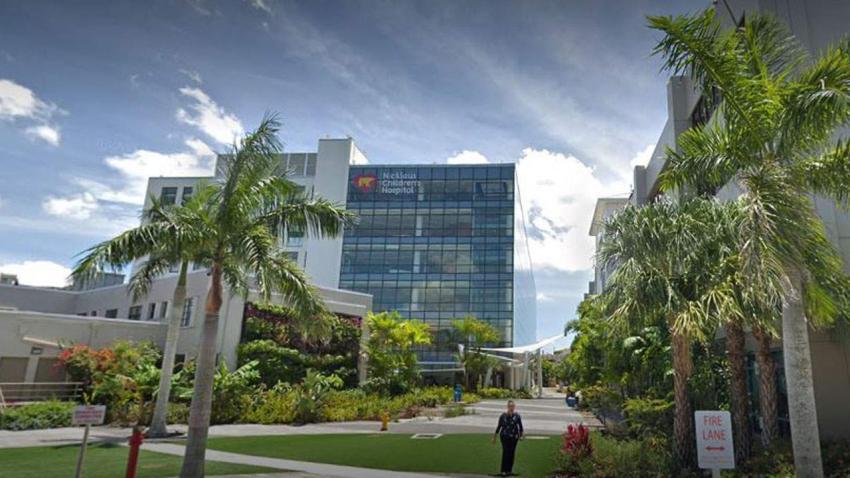 Un empleado del hospital de niños Nicklaus en Miami da positivo al coronavirus