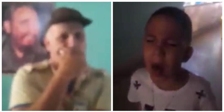 """Niegan la entrada a un padre en un Pediátrico de Cienfuegos, porque estaba usando short: """"Mi niño lleva días tosiendo y con fiebre"""""""