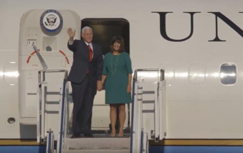 Mike Pence y su esposa dan negativo al Covid-19, y planean continuar con su agenda de campaña