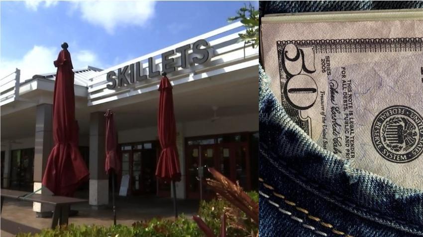 Cliente habitual de un restaurante en Florida deja una propina de $10,000 dólares a los camareros