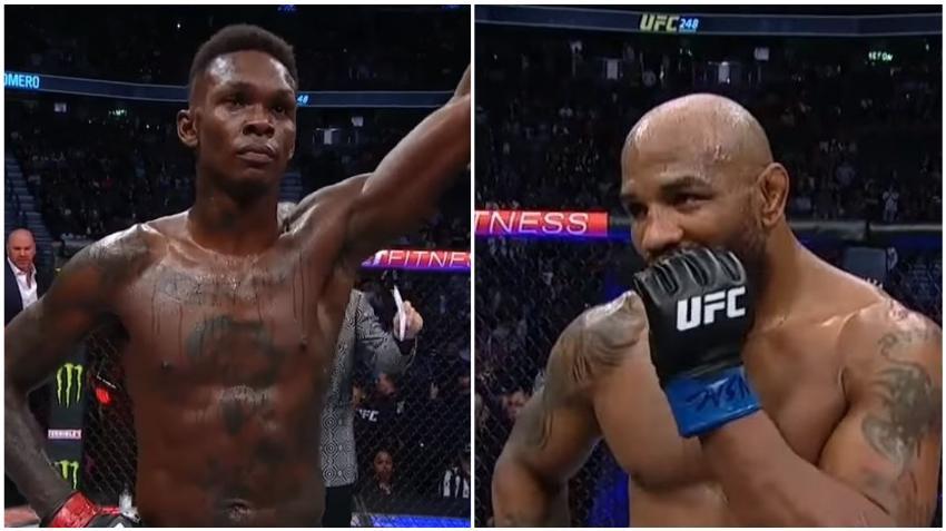 Cubano Yoel Romero cae frente a Israel Adesanya y se queda sin el título en el UFC 248