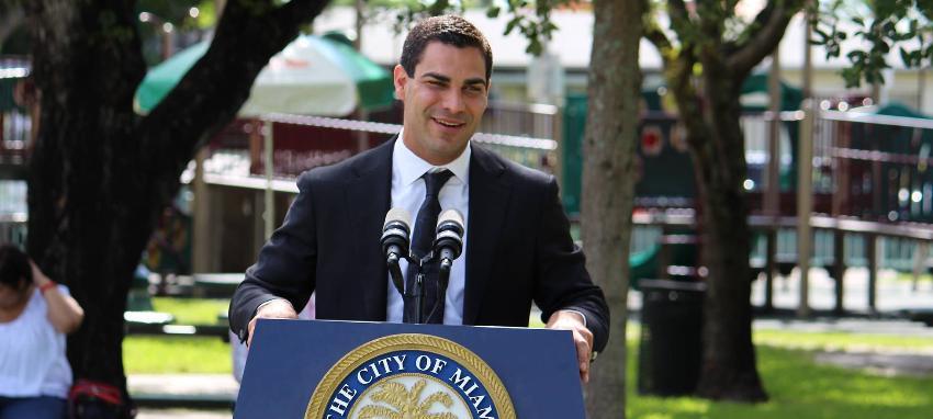 Alcalde de Miami Francis Suárez promete seguir defendiendo la libertad, la democracia y los derechos humanos