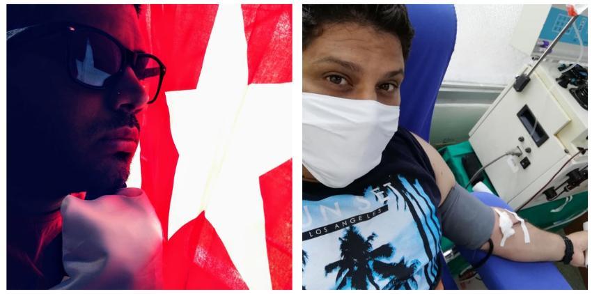 Un habanero se convierte en el primer paciente recuperado de Covid-19 en Cuba, que dona su plasma  para ayudar a salvar vidas
