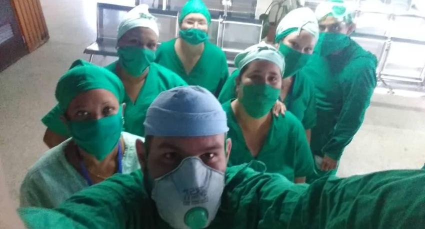 Al menos 102 médicos infectados de Covid-19 en la capital, y Centro Habana con mayor riesgo epidemiológico