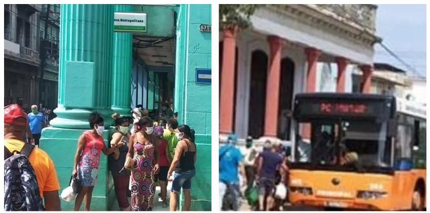 Así están las calles de La Habana este viernes, a medida que aumentan los casos de Covid-19 en Cuba