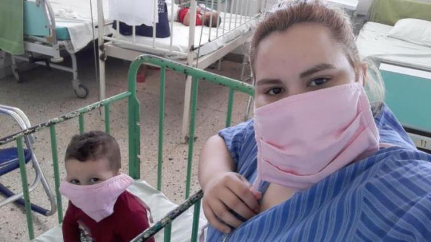 Habla la madre de Dilan, el primer niño que dio positivo al Covid-19 en Cuba