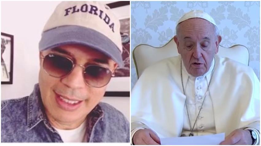 Humorista cubano Alexis Valdés fue contactado por el Papa Francisco para incluir su poema Esperanza en un libro