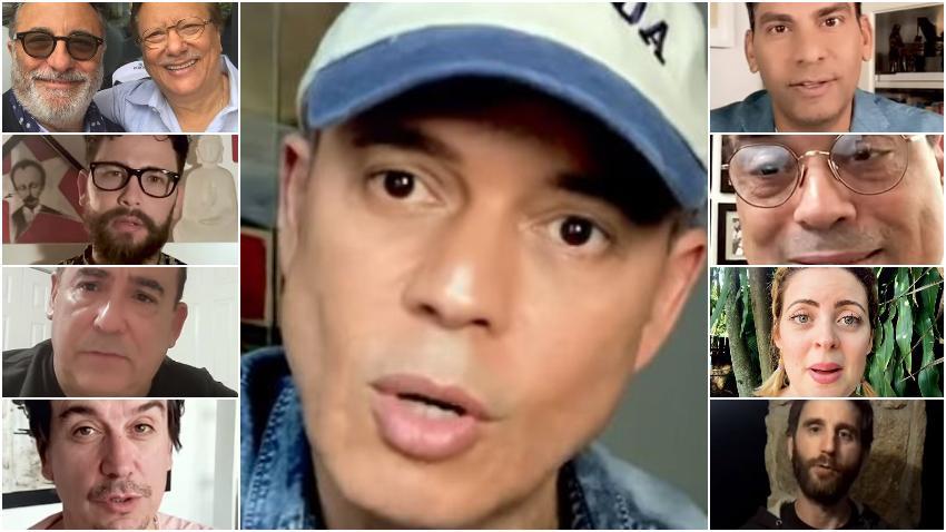 """Reconocidos artistas se unen a Alexis Valdés para recitar su poema """"Esperanza"""""""