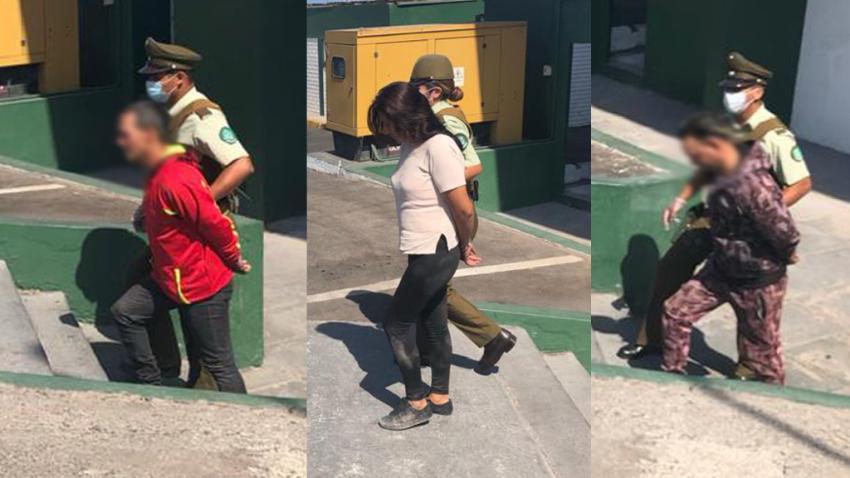 Detienen a dos cubanos y una boliviana en Chile acusados de robo con intimidación