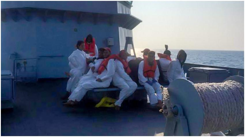 Un grupo de balseros cubanos detenidos en Bahamas son puestos en cuarentena por temores de COVID-19