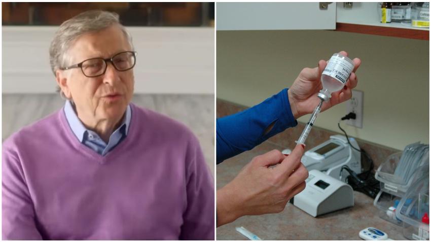 Bill Gates niega teorías de conspiración sobre su interés en la vacuna del COVID-19
